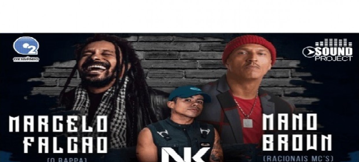 Marcelo Falcão + Mano Brown + NK  -  FOTOS