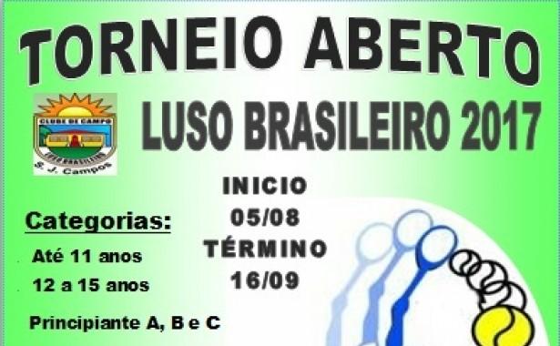 TORNEIO ABERTO TÊNIS